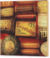Pharmacist - The Druggist Wood Print