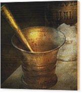 Pharmacist - The Pounder Wood Print