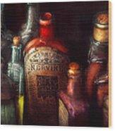 Pharmacy - A Safe Rheumatic Cure  Wood Print