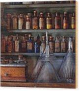 Pharmacy - Master Of Many Trades  Wood Print