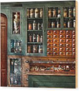 Pharmacy - Medicine - Pharmaceutical Remedies  Wood Print
