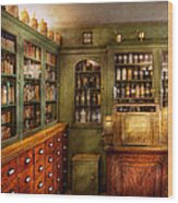 Pharmacy - Room - The Dispensary Wood Print