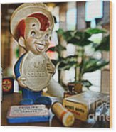 Pharmacy - Speedy Alka Seltzer - Vintage Advertising  Wood Print by Paul Ward