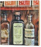 Pharmacy - Vaginal Wafers Wood Print