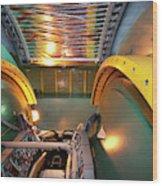 Phenix Detector At Rhic Wood Print