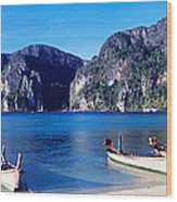 Phi Phi Islands Thailand Wood Print