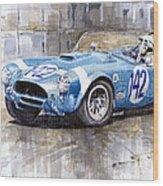Phil Hill Ac Cobra-ford Targa Florio 1964 Wood Print