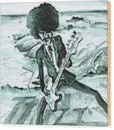 Phil Lynott In Howth Wood Print