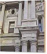 Philadelphia Architecture 2 Wood Print