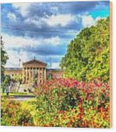 Philadelphia Art Museum 5 Wood Print