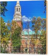 Philadelphia Christ Church 2 Wood Print