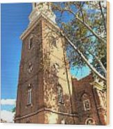 Philadelphia Christ Church Tower 1 Wood Print