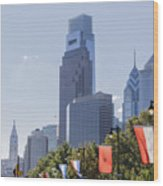 Philadelphia - City On The Rise Wood Print