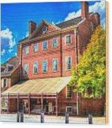 Philadelphia City Tavern Wood Print