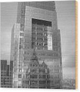 Philadelphia Comcast Building Wood Print