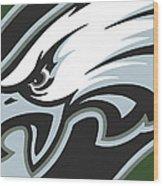 Philadelphia Eagles Football Wood Print