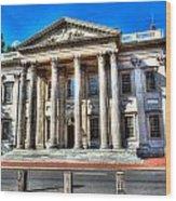 Philadelphia First Bank Wood Print