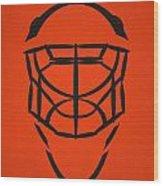 Philadelphia Flyers Goalie Mask Wood Print