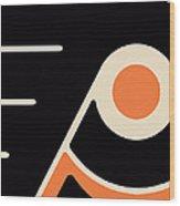 Philadelphia Flyers Wood Print by Tony Rubino