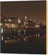 Philadelphia From The Schuykill Wood Print