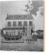 Philadelphia Railroad Wood Print