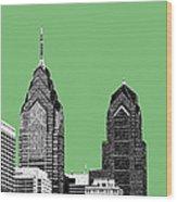 Philadelphia Skyline Liberty Place 2 - Apple Wood Print