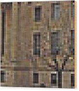 Philadelphia Skyline Panoramic Wood Print