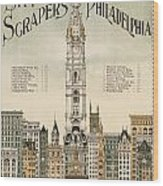 Philadelphia Skyscrapers Wood Print