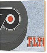Philadephia Flyers Wood Print