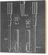 Phillips Screwdriver Patent Wood Print