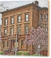 Philly Fairmount View Two Wood Print