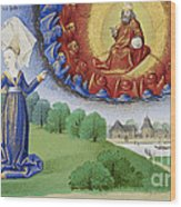 Philosophy Instructs Boethius On God Wood Print by Getty Research Institute