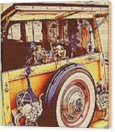 Phil's Fabulous 41 Wood Print by Ron Regalado
