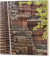 Phimeanakas Temple Steps Wood Print