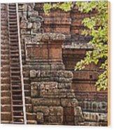 Phimeanakas Temple Steps Wood Print