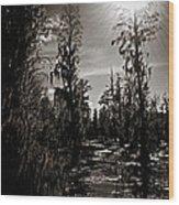 Phinizy Swamp Wood Print