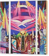 Phish New York For New Years Triptych Wood Print by Joshua Morton