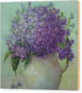 Phlox          Copyrighted Wood Print