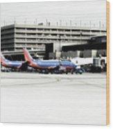 Phoenix Az Southwest Planes Wood Print