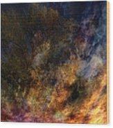 Phoenix Two Wood Print