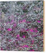 Phone Case - Liquid Flame - Violet 2 Wood Print