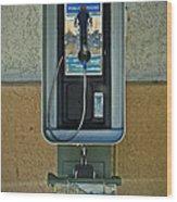 Phone Wood Print