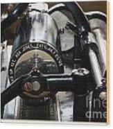 Phonograph Recording Cylinder Wood Print