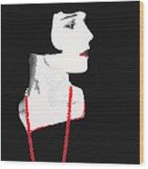 Photo Homage Louise Brooks  Eugene Robert Richee Circa 1927-2012 Wood Print