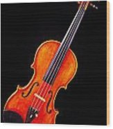 Photograph Of A Complete Viola Violin In Color 3368.02 Wood Print