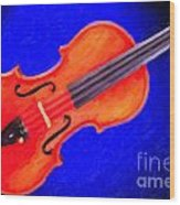 Photograph Of A Complete Viola Violin Painting 3371.02 Wood Print