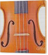 Photograph Of A Viola Violin Middle In Color 3374.02 Wood Print