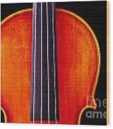 Photograph Or Picture Violin Viola Body In Color 3367.02 Wood Print