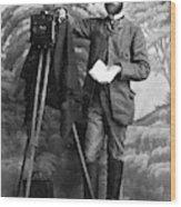 Photographer, 1900 Wood Print