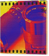 Photographic Lenses Wood Print